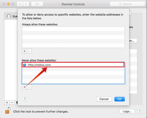 Mac Safari Block Sites List