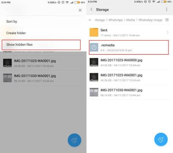 How to Hide WhatsApp Videos and Images from Gallery (Android