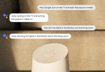 Enable Google Home Continued Conversation
