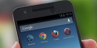 Google Search bar Android
