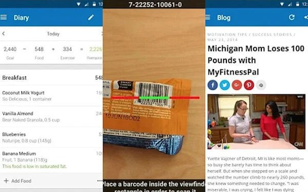 Best Weight Loss Apps for Android and iPhone | Mashtips