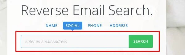 Reverse Email Search find email location