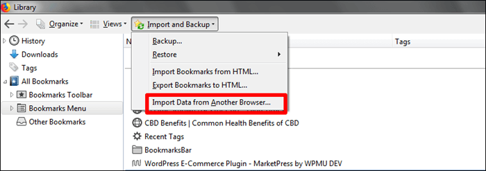 How To Import Bookmarks And Passwords From Firefox To Chrome