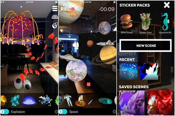 Best AR apps for iPhone and iPad - GIPHY World