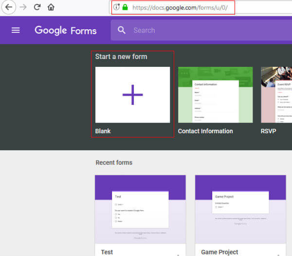 How to Create the Google Forms Online for your Business