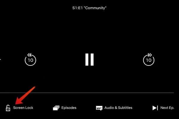 Netflix Screen Lock