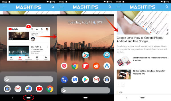 Android P Split Screen Disable