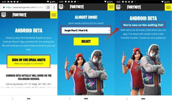 Fortnite Android Devices List | I Got Free V Bucks