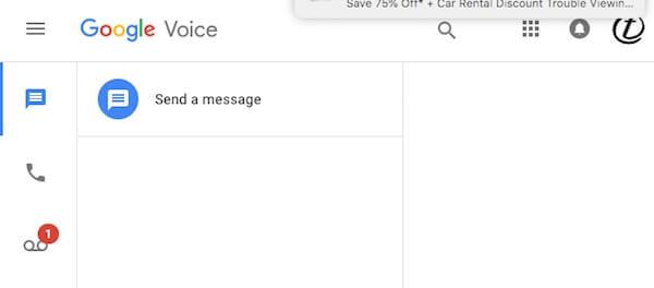 Google Voice UI