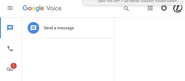 Google voice an ultimate guide to get and work with google voice google voice ui m4hsunfo