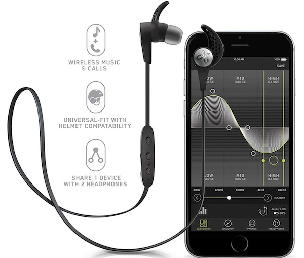 Jaybird X3 In-Ear Wireless Sports Headphones