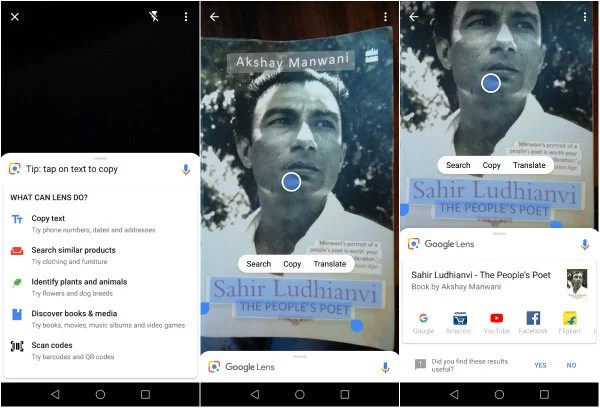 Mashtips: How to Perform OCR Scanning with Google Lens