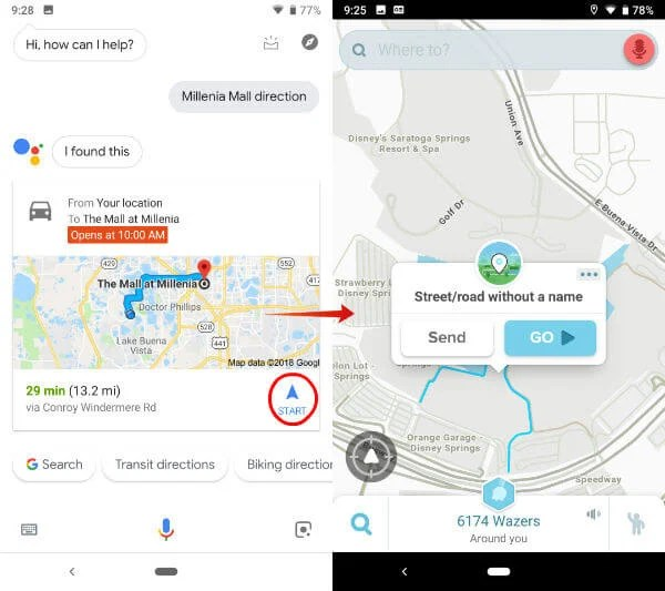 Set Waze Default Map: Change Default Navigation App on
