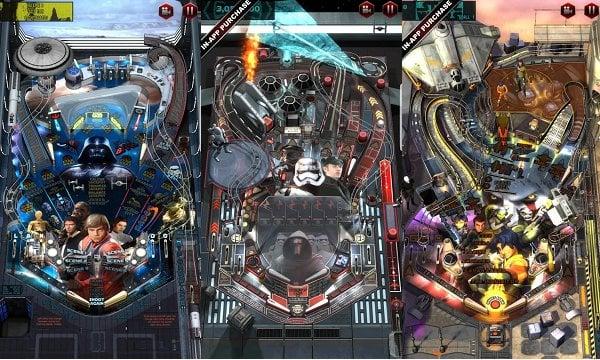 android star wars pinball 6