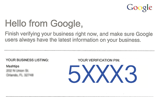 Local Business Verification Email