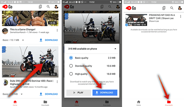 How to download || youtube video || in sd card || no offline.