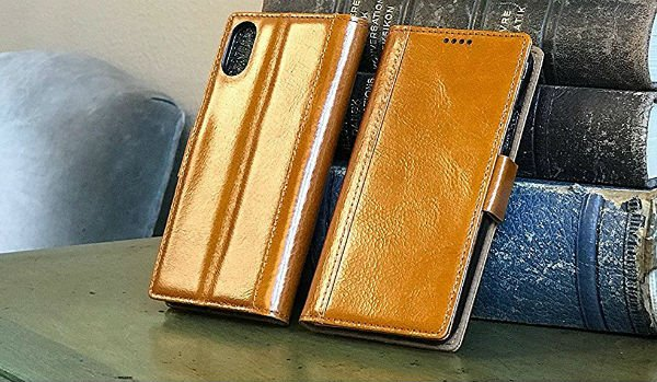 iPulse iPhone Xs Leather Case