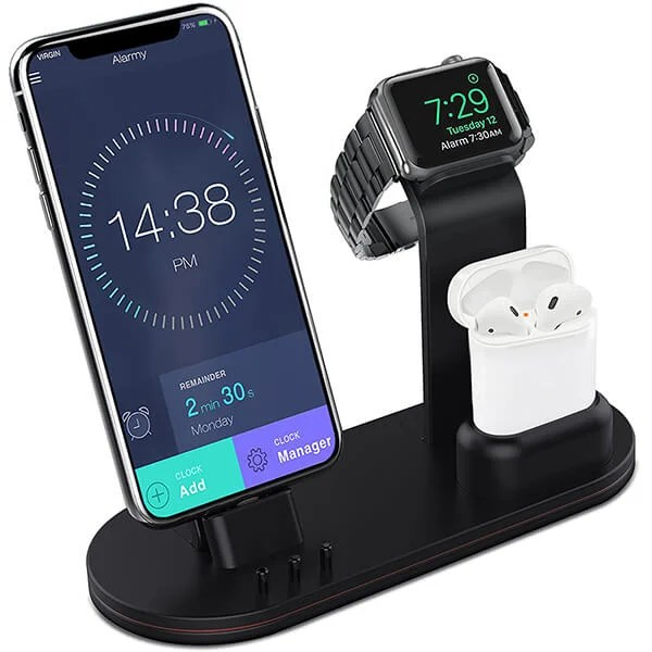 Apple Watch and iPhone Stand 3 in 1