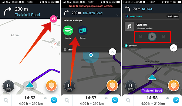 How to Control Music While Using Google Maps and Waze | Mashtips