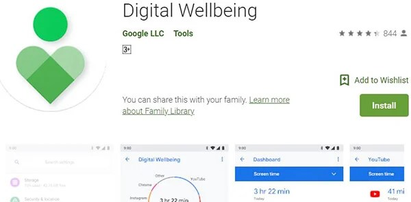 How to get Digital Wellbeing