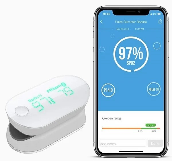 iHealth Air Wireless Oximeter