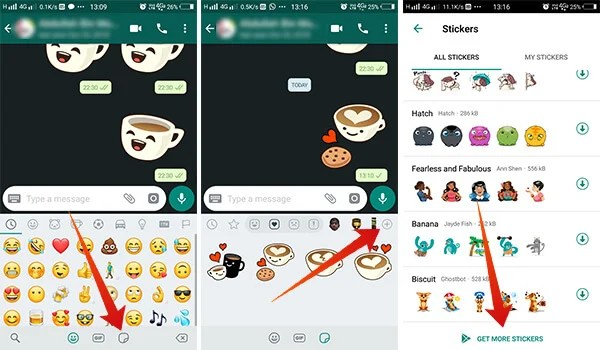 How to get more WhatsApp Sticker Packs
