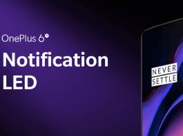 Notification LED on OnePlus 6T