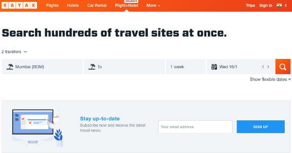 kayak_travel_management_apps