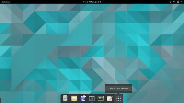Dash to Dock GNOME Extension