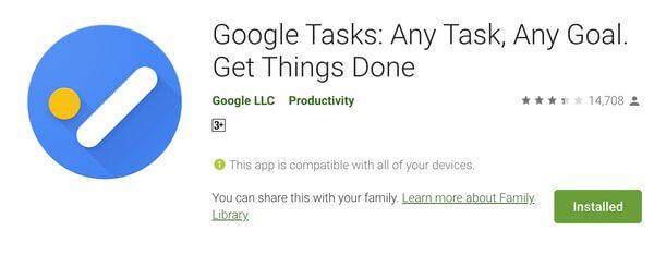 how to get google tasks