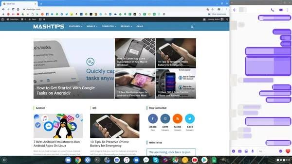 Messenger for Chromebooks