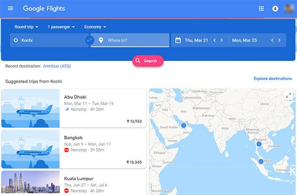 Google Flights Official Website