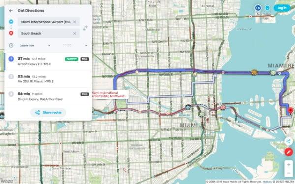 Waze Live Map Desktop Version