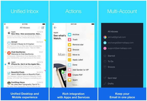 Best Email Apps for iPhone & iPad | Google Inbox