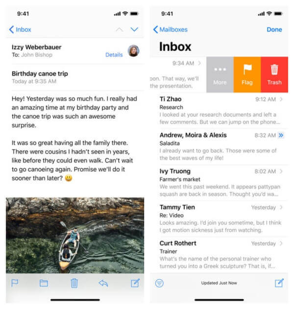 Best Email Apps for iPhone & iPad | Google Inbox Alternatives | Mashtips