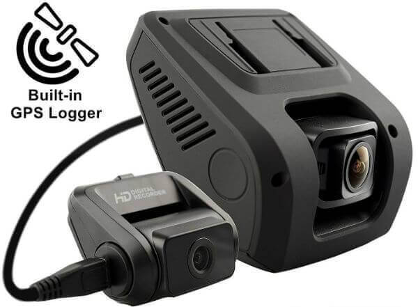 Rexing V1LG Dual channel dash cam