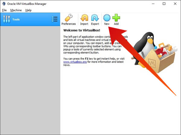 Create a Linux virtual machine