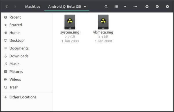 Android Q beta GSI for project treble devices