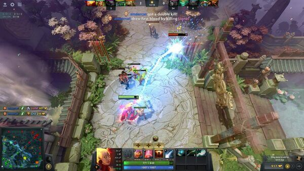 DOTA 2 Best MOBA Linux game