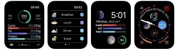 Lifesum health app for Apple Watch