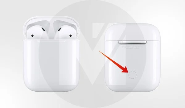 Reset Apple AirPods - Press and Hold the Button