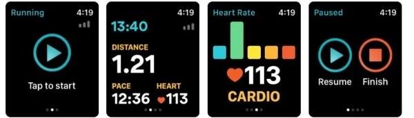 RunKeeper App for Apple Watch