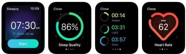 Sleepzy Sleep-Cycle Tracking App