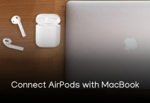 Connect Apple AirPods with MacBook