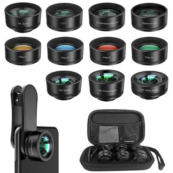 Erligpowht 11 in 1 Phone Lens Kit