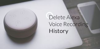How to Delete Alexa Voice Recording History