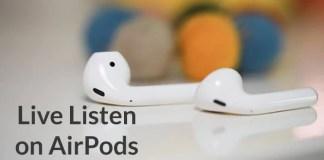 AirPods wireless Bluetooth headphones