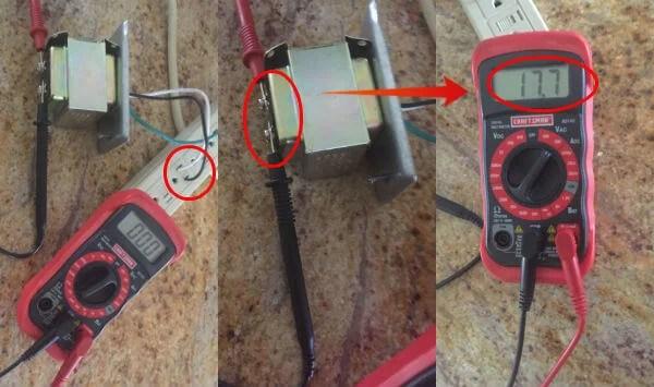 Ring Door Bell Transformer Voltage