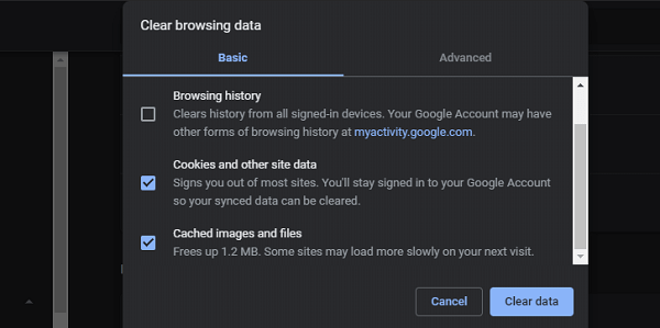Fix Chrome's Continue Where You Left off Feature Not Working 5