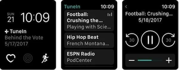 TuneIn Pro Apple Watch App